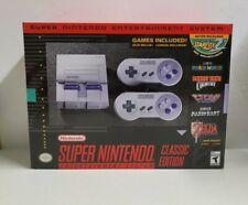 Super Nintendo Entertainment System SNES Classic Edition Mini Fast Shipping!!!