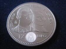 "MDS españa 12 euro 2004 ""felipe + letizia"", plata #16"