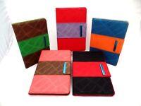 """OKER 8"""" Tablet Flip Case w/ Inner Pocket Snake Skin Patterned w/Strap  UNIVERSAL"""