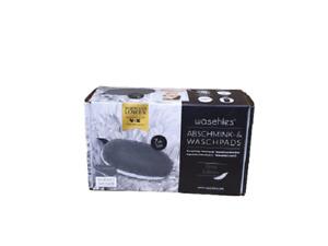 Waschies Abschminkpads -& Waschpads aus Mikrofaser,grauweiß,7 Stk.
