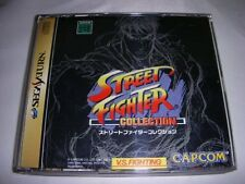 USED Street Fighter Collection japan import SEGA Saturn