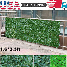 Artificial Fake Ivy Leaf Foliage Garden Privacy Fence Screen Panel Hedge Decor