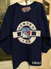 Vintage CCM New York Rangers Center Ice Practice Jersey,SWEET,AMAZING CONDITION