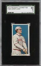Rare 1909-11 T206 Harry Lord Piedmont 350 Boston SGC 60 / 5 EX