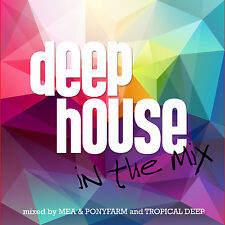 CD Deep House in the Mix d'Artistes divers 2CDs
