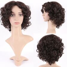 Soft as Remy Hair Short Wig Fashion Ladies Pixie Curly Synthetic Full Head Wigs