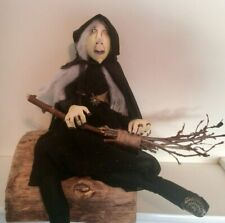 More details for  halloween witch handmade ,ooak, artist,  cloth /rag doll by dolly dumpling