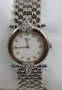 Chopard Women's 18K White Gold Diamond Dial Quartz Wristwatch