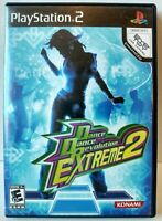 """Dance Dance Revolution Extreme 2"" Sony PlayStation 2 No Manual"