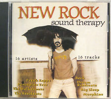 NEW ROCK SOUND THERAPY cd promo FRANK ZAPPA THE RESIDENTS BECK PORCUPINE TREE