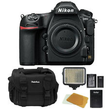 Nikon D850 Digital SLR Camera Body 45.7MP 4K FX-format + Video Light Top Bundle