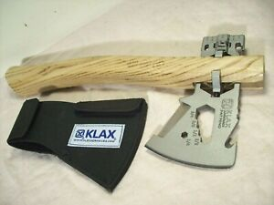 2010's~KLAX~KLECKERKNIVES~LUMBERJACK~SURVIVAL MULTI-TOOL AXE~UNUSED w/SHEATH~NEW