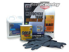 KBS Motorcycle Fuel Tank Sealer Kit SMALL 20Ltr Prevent Rust Corrosion Motorbike