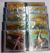 Lowrider Oldies, Vol. 1- 10 : Cruisin' Chrome Series ( NEW ) all 10 cds !!!!