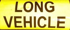 Reflective long vehicle self adhesive vinyl Sign Sticker