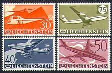 Liechtenstein 1960 Aviation/Transport/Planes/Helicopter/Aircraft 4v set (n32626)