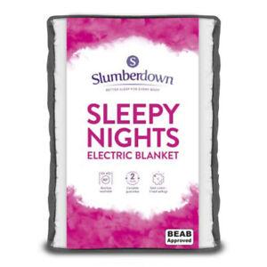Slumberdown Sleepy Nights Electric Blanket - Double