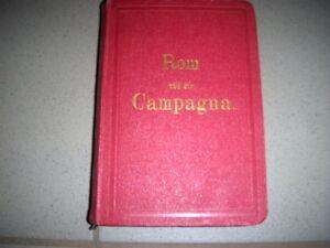 Fournier Theodor, Rom und die Campagna. Neuer Führer für Reisende von 1865