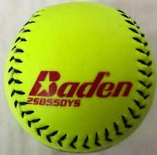 Baden Neon Yellow Fire Softball
