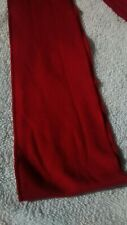 Weekenders women's classic red sash three and a half inches wide 88 inches long