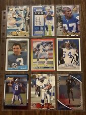 Lot Of 44 Detroit Lions Football Cards Range From 1988 To 2020 See Photos