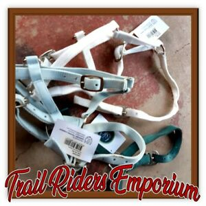 FOAL halters headstall x 3 web new with tags random colour pink purple yellow