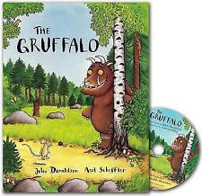 The Gruffalo Book and CD Pack, Julia Donaldson   Perfect Paperback Book   Good  