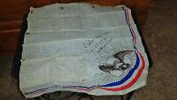 RARE Original RED CROSS 1918 WWI Era Napkin Santiago Cuba