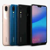 "New Huawei P20 Lite 5.84"" 64GB 4G LTE Android 8.0 Unlocked Smartphone DUAL SIM"