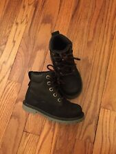 Skechers Adventure Black Ankle Boots Size 10.5 For Boys