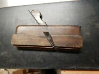 Antique 1800s Wooden Hand Plane Woodworking Tool