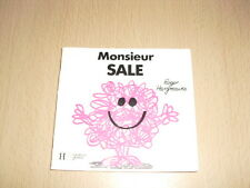 """Monsieur SALE  Roger Hargreaves Collection """"Bonhomme"""""""