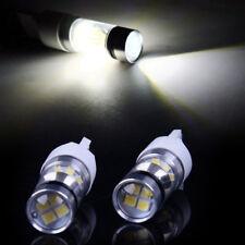 2x T20 7443 W21/5W 3030 LED Bremslicht Stoplicht Lampe DRL Birne