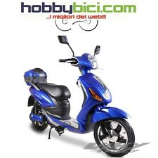 Motorino Scooter Bicicletta Elettrica E-Scooter Z-tech t-09 250w 48v Viky blu