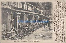 FRANCE PARIS CAFE DE LA PAIX GRAND HOTEL