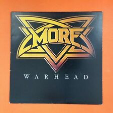 MORE Warhead SD19295 LP Vinyl VG++ Cover VG+ 1981 Paul Mario Day