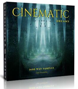 Cinematic Deams Samples Pack - Wav Loops Ableton Logic Pro Cubase Acid Bitwig