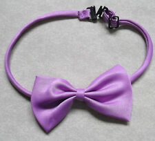 BOYS LILAC PURPLE DICKIE BOW TIE BOWTIE ADJUSTABLE NECK SIZE NEW ONE SIZE CHILDS