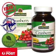 Nature's Answer, Cranberry, 800 mg, 90 Vegan Capsules - Vaccinium Macrocarpon