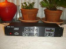 Ashly SC-55, Black Version, Stereo Peak Limiter Compressor, Vintage Rack