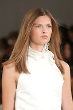 Ralph Lauren £1908 New Runaway Ruffle Trim Collar White Dress US 4 UK 8 S Small