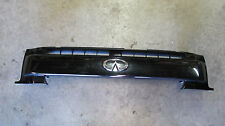 OEM 2001-2003 Infiniti QX4 Upper Grille Grill Black 01 02 03 vgc OE factory