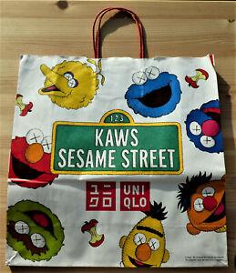 Kaws Sesame Street X UNIQLO Limited Paper Bag 100%