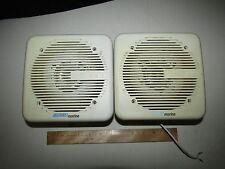 Lot of 2 Vintage 150w Jensen Marine Speakers - Work well