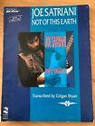 JOE SATRIANI: NOT OF THIS EARTH Guitar Tablature Songbook