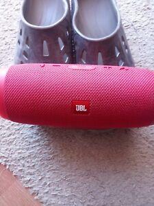 JBL Charge 3 Waterproof Portable Bluetooth Speaker ( RED)