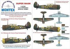 Montex Super Mask 1:48 CA 9 Wirraway for Special Hobby Spraying Stencil #K48160