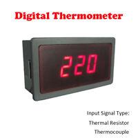 Thermometer Ohne Sonde digital LCD Temperatur Anzeige Messer Termometer Aquarium