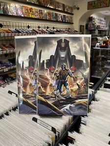 Mighty Morphin 8 Vol 1 InHuk Lee 1:10 Variant - Boom Studios 2021