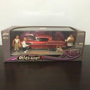 2005 JADA HOMIE ROLLERZ OIL CHANGE '58 CHEVY IMPALA RED SEALED BOX 1/24 RARE